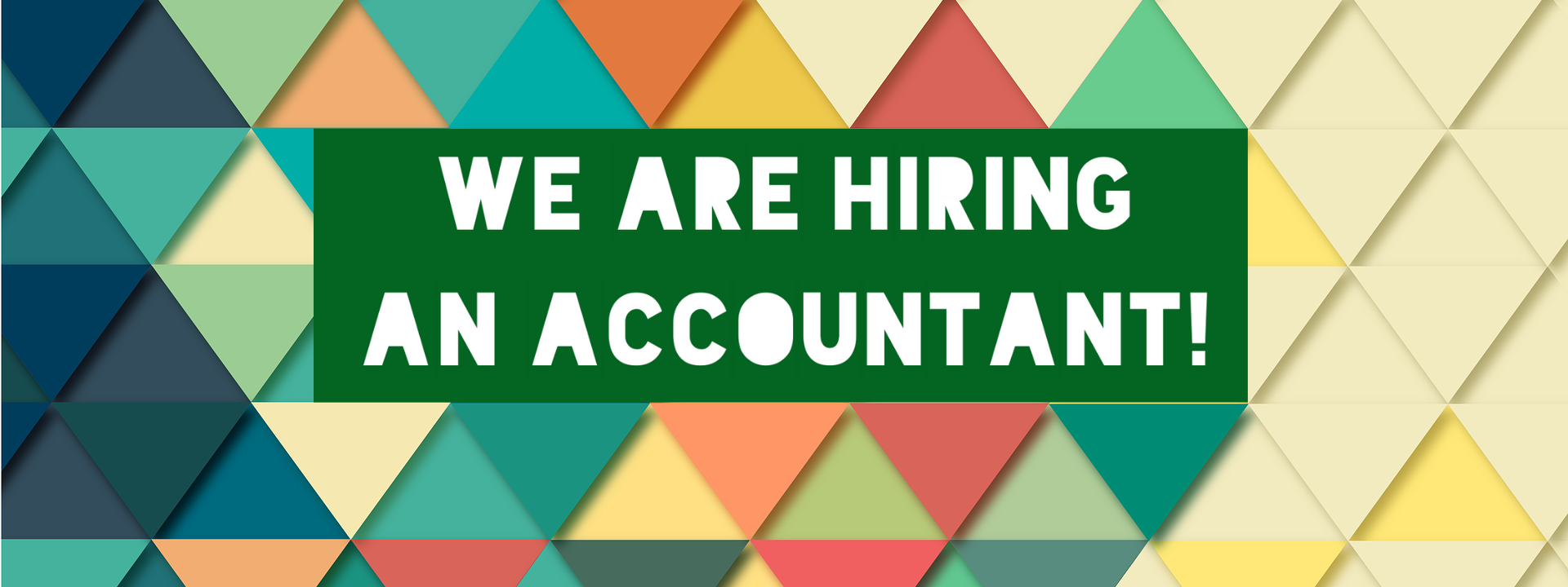 Job Opening - Accountant